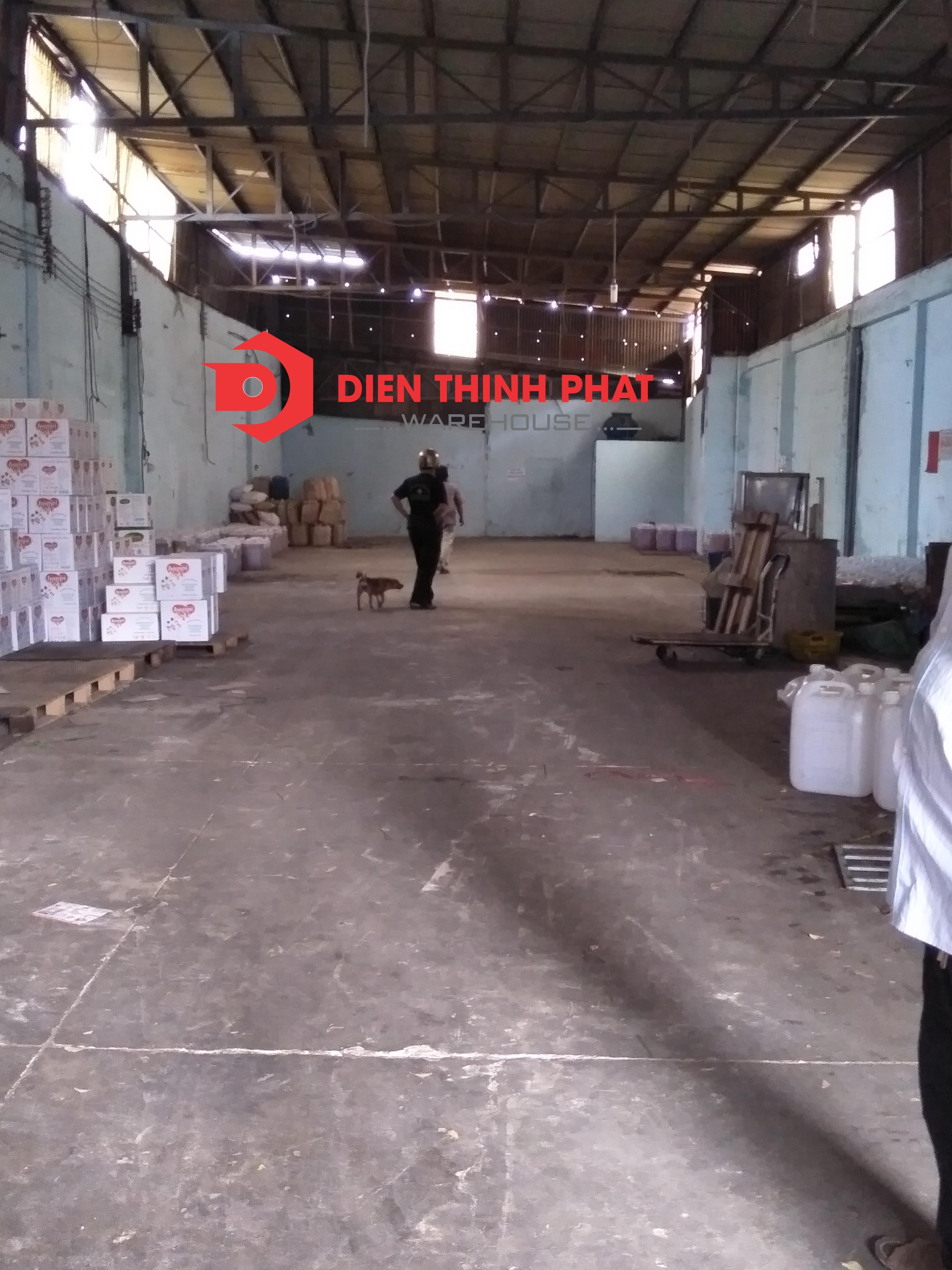 Kho xưởng đường Lê Văn Quới Dt : 160m(8x20)